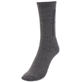 Woolpower Socks Logo 400 grey